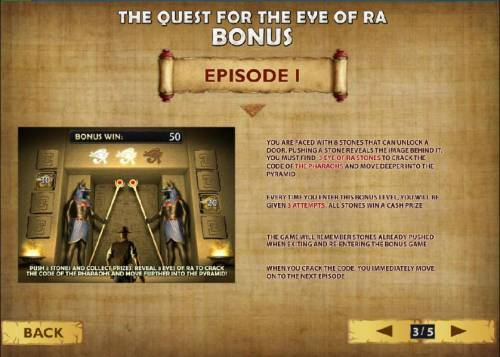 Daring Dave & the Eye of RA Review Slots how to play the quest for the eye of ra bonus - Episode I