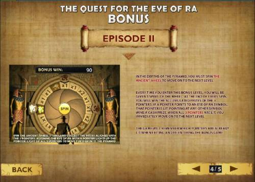 Daring Dave & the Eye of RA Review Slots how to play the quest for the eye of ra bonus - episode II