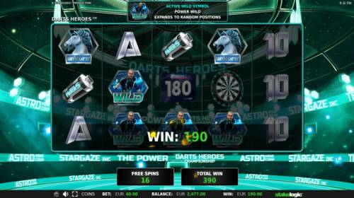 Darts Heroes Review Slots Free Spins Game Board