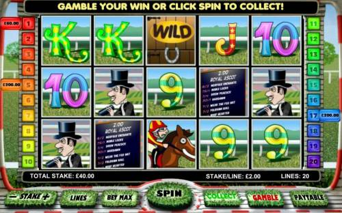 Day at the Races Review Slots Multiple winning paylines triggers a $460 big win!