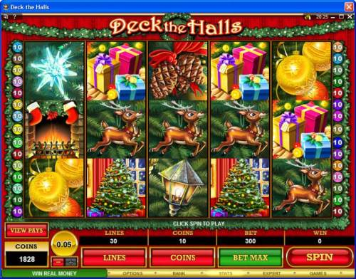 Deck the Halls Review Slots