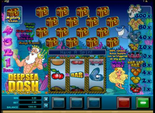 Deep Sea Dosh review on Review Slots