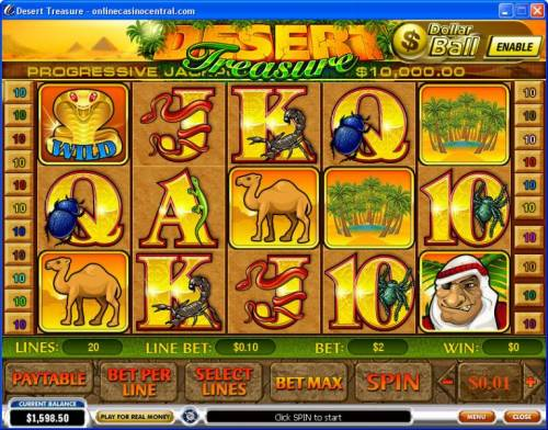 Desert Treasure review on Review Slots