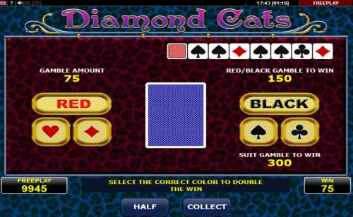 Diamond Cats review on Review Slots