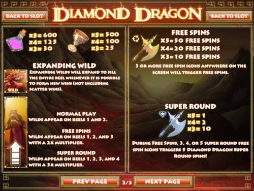 Diamond Dragon review on Review Slots