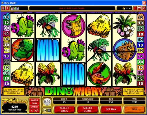 Dino Might Review Slots