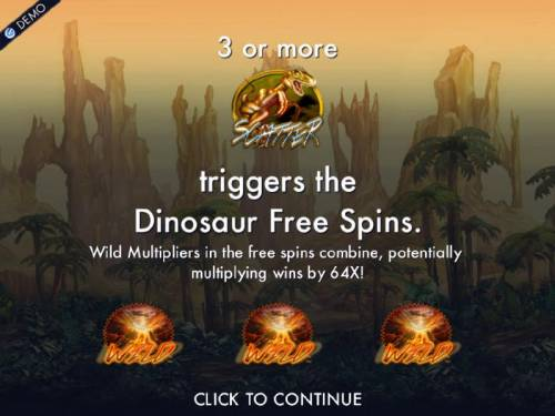 Dinosaur Adventure review on Review Slots