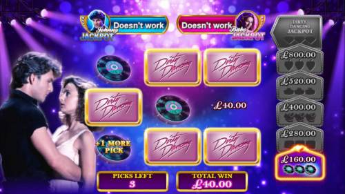 Dirty Dancing Review Slots Collect items to earn extra picks and to level up.