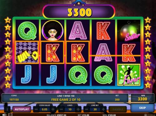 Disco fever Review Slots Free Spins Game Board