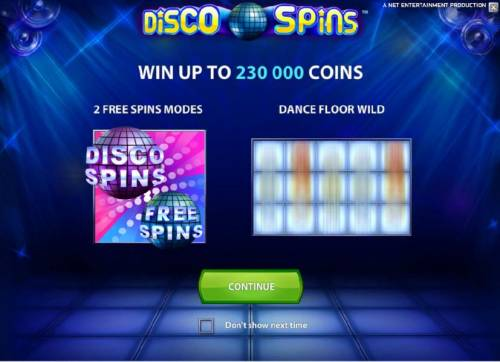Disco Spins Review Slots win up to 230000 coins
