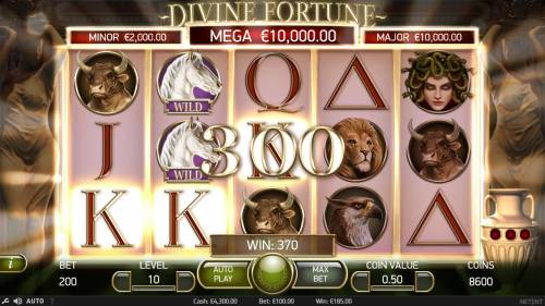 Divine Fortune review on Review Slots
