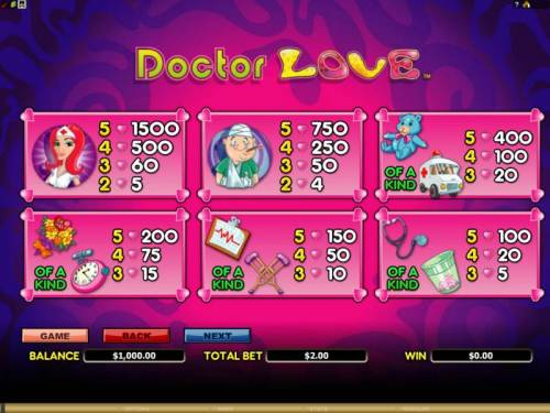 Doctor Love Review Slots pick me bonus - win up to 150 times the bet