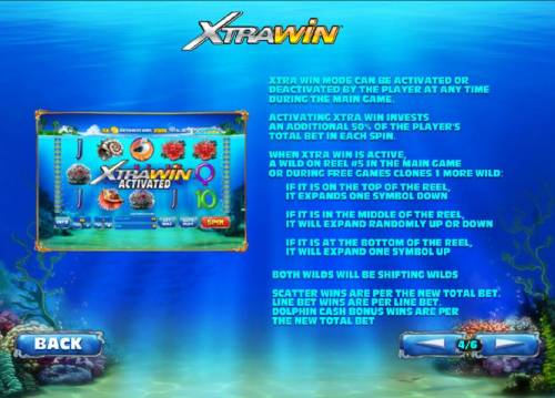 Dolphin Cash Review Slots xtrawin feature rules and how to play