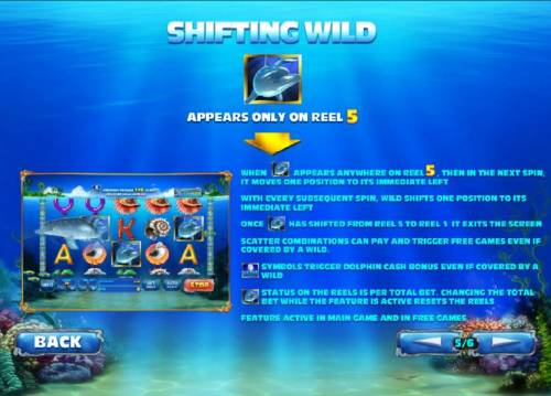 Dolphin Cash Review Slots shifting wild - rules and how to play