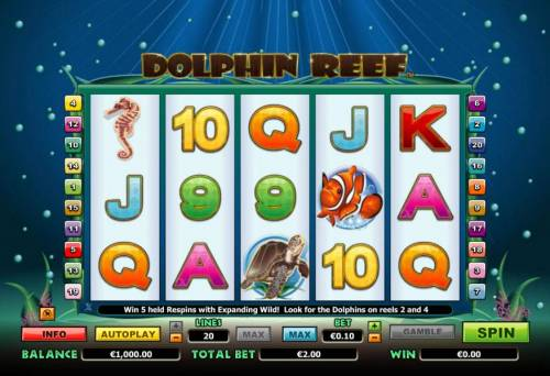 Dolphin Reef review on Review Slots