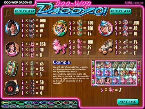 Doo-Wop Daddy-O review on Review Slots