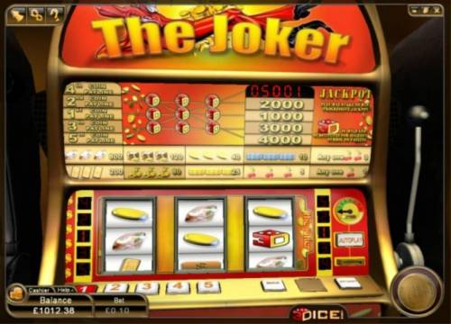 Double Dice Slot Review Slots Main game board featuring three reels and 5 paylines with a $400 max payout