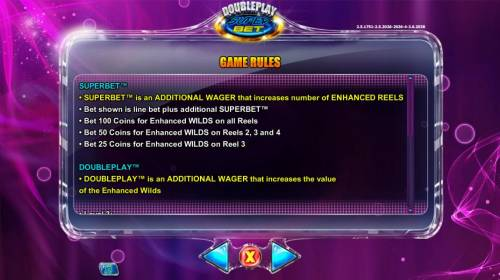 Double Play SuperBet Review Slots SuperBet is an additional wager that increases number of enhanced reels