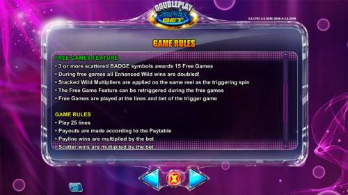 Double Play SuperBet Review Slots Free Games Feature Rules