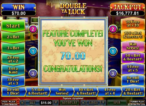 Double Ya Luck review on Review Slots
