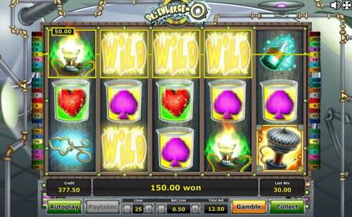 Dr. Enlarge-O Review Slots Multiple winning paylines triggered by the Expanding Wild Monster feature