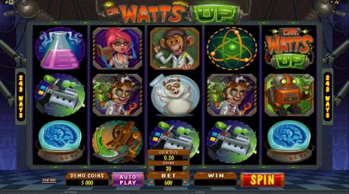 Dr Watts Up review on Review Slots