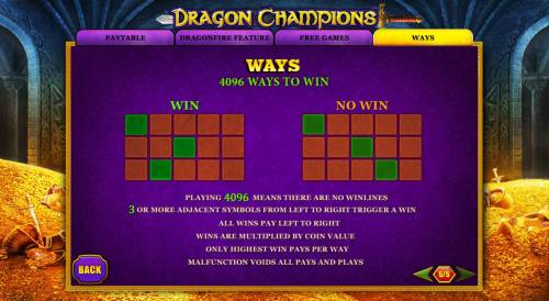 Dragon Champions Review Slots 4096 Ways to Win