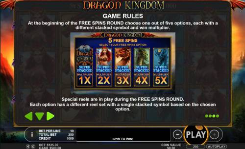 Dragon Kingdom review on Review Slots
