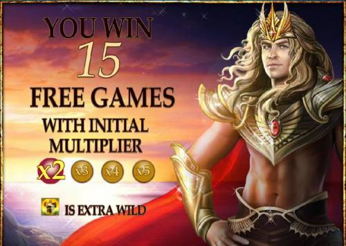Dragon Kingdom Review Slots 15 free games awarded with 2x multiplier