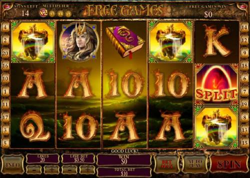 Dragon Kingdom Review Slots free games feature game board