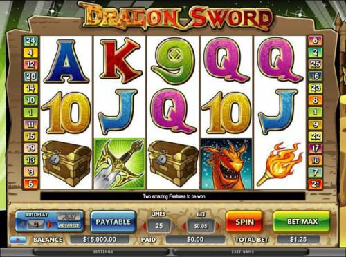 Dragon Sword review on Review Slots