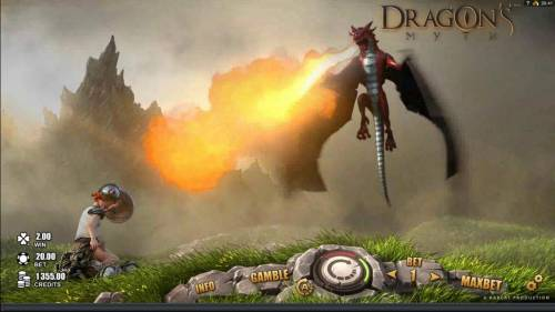 Dragon's Myth Review Slots The fire breathing dragon is caught. We are half way to collecting the Dragon Bounty bouns.