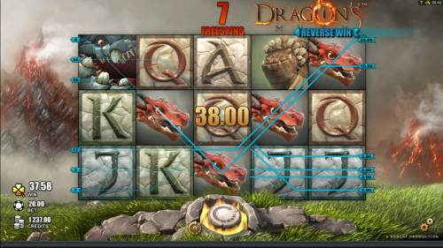 Dragon's Myth Review Slots Here is an example of a right to left winning paylines