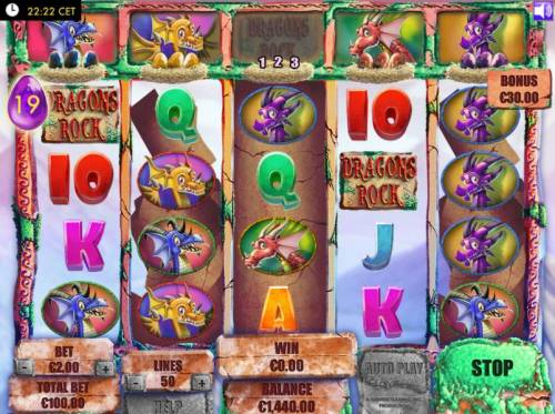 Dragons Rock review on Review Slots