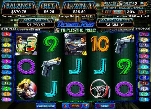 Dream Run review on Review Slots