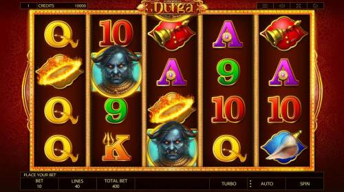 Durga Review Slots Main Game Board