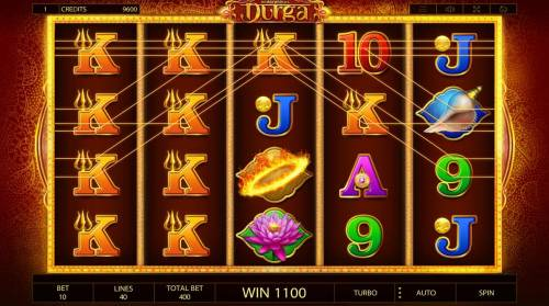 Durga Review Slots Multiple winning paylines