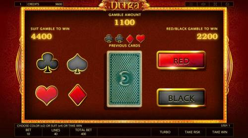 Durga Review Slots Gamble Feature Game Board