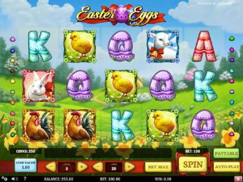 Easter Eggs review on Review Slots