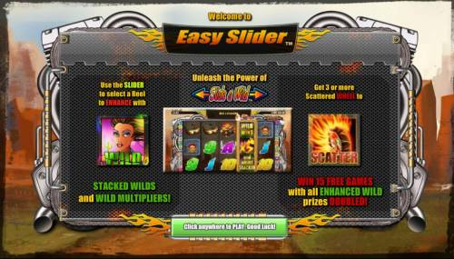 Easy Slider Review Slots Unleash the power of the Slide-A-Wild game feature