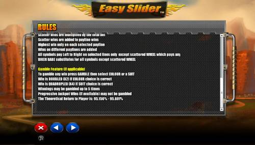 Easy Slider Review Slots Gamble Feature Games Rules