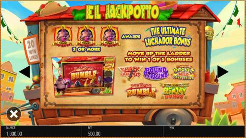 El Jackpotto Review Slots Scatter Symbol Rules