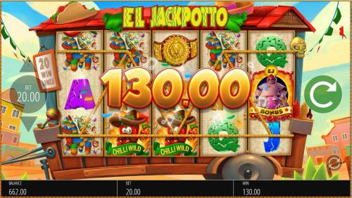 El Jackpotto Review Slots Multiple winning paylines