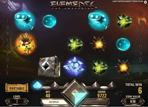 Elements The Awakening Review Slots first avalanche triggered