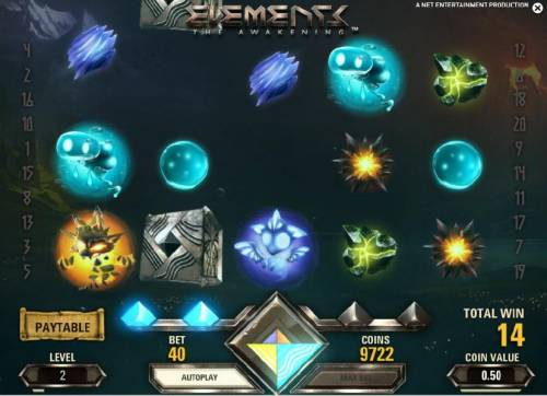 Elements The Awakening Review Slots second avalanche triggered