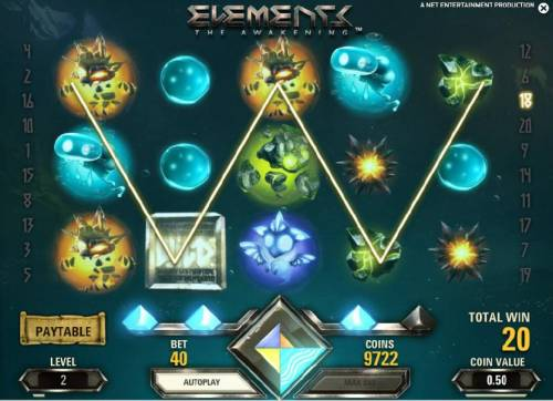 Elements The Awakening Review Slots fourth win in a row triggers the last avalanche