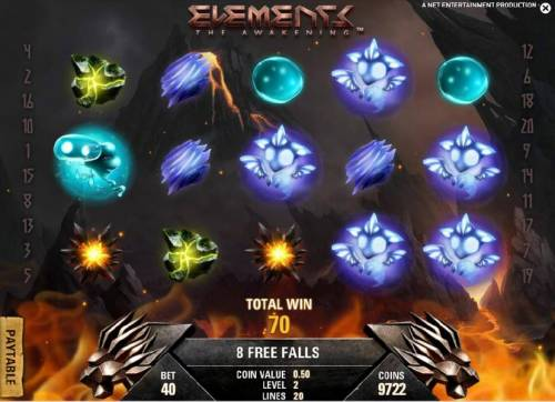 Elements The Awakening Review Slots fire storm game board