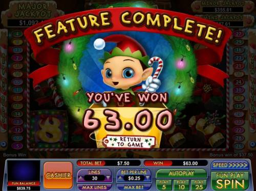 Elf 8's Review Slots Free Games feature pays out a total of 63.00