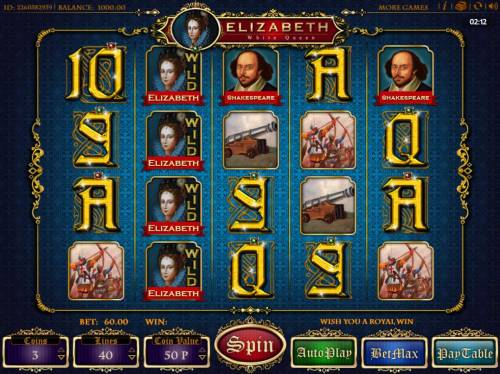 Elizabeth White Queen review on Review Slots