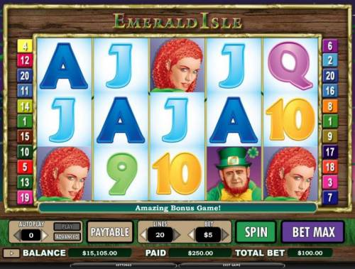 Emerald Isle review on Review Slots